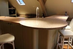 Stone White Painted Kitchen - Modern Living