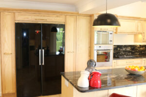 Light wood Maple Kitchen - Modern Living