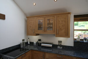 Oak Kitchen - Burr Oak - Modern Living