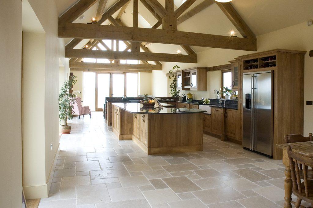 Vaulted Oak Celing