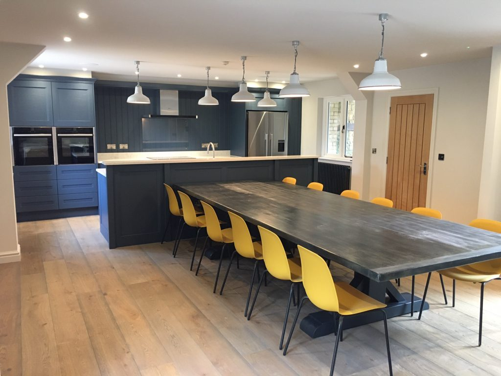 Modern Living Painted Kitchens