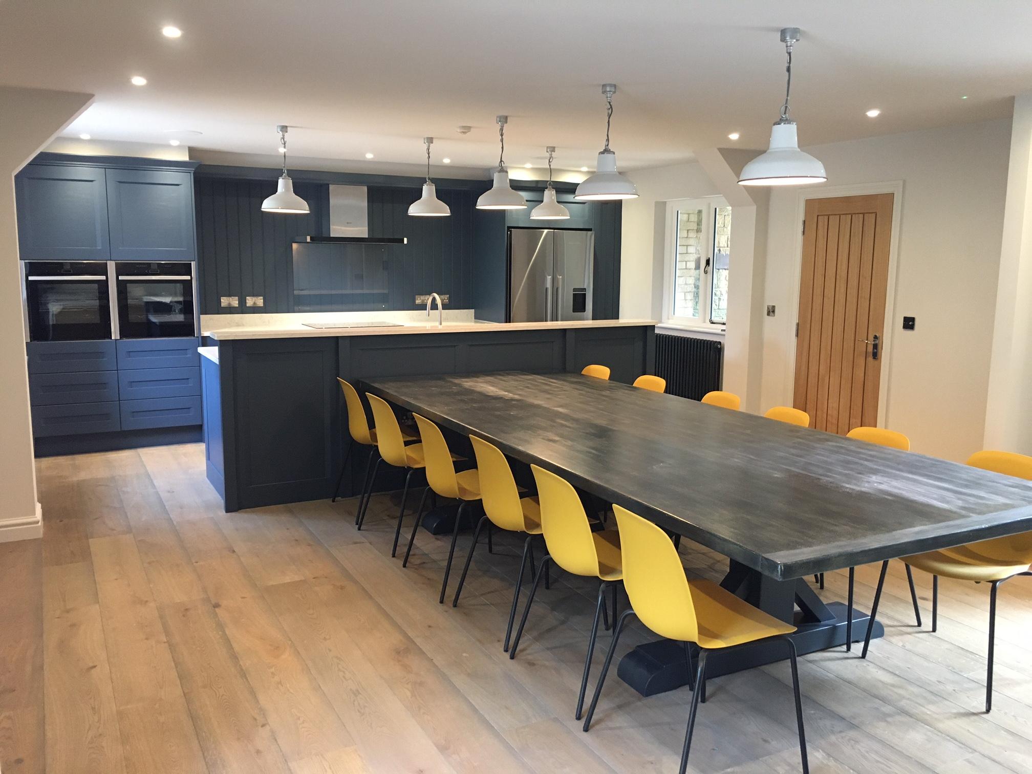 painted kitchen Modern Living Kitchens