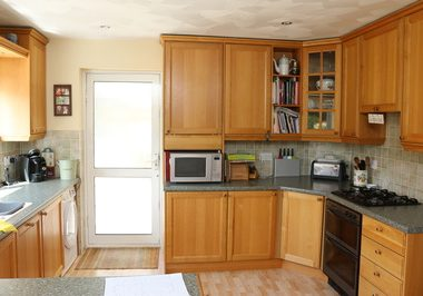 before and after kitchens from Modern living